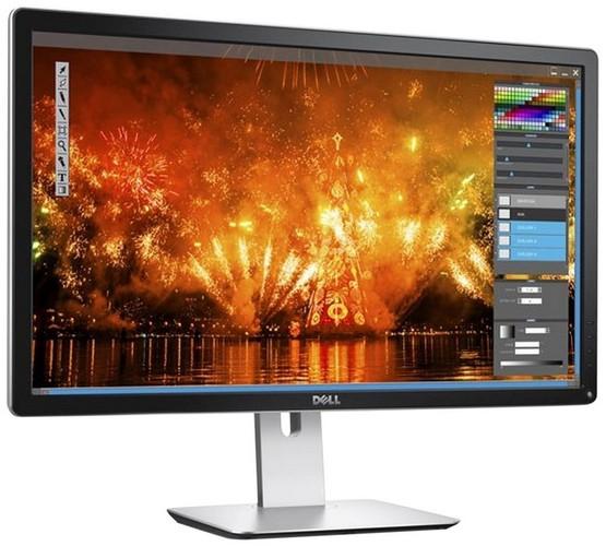 Dell P2415Q 60,9 cm (24 Zoll) 4k Monitor (HDMI, 3840 x 2160 Pixel, 6ms Reaktionszeit) schwarz