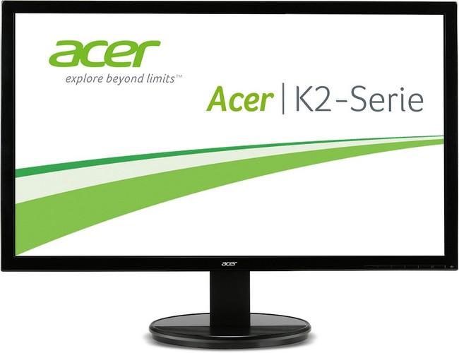 Acer K242HQKBMJDP 60 cm (23,6 Zoll) Monitor (DVI, HDMI 2.0, Displayport, 4ms Reaktionszeit) Schwarz