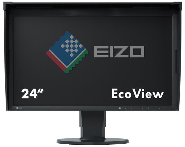 Eizo CG248-4K 60 cm (23,8 Zoll 4K UHD) Grafik Monitor (2x HDMI, DisplayPort) schwarz