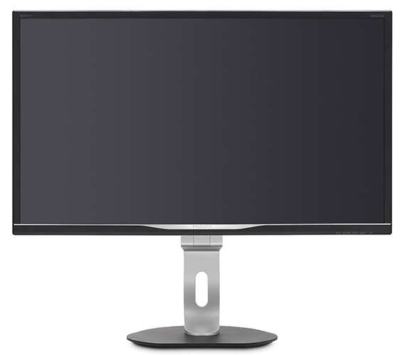 Philips BDM3275UP/00 81 cm (32 Zoll) Monitor (VGA, DVI, HDMI, DisplayPort, 4x USB, 3840 x 2160, 60 Hz, 5 ms, Pivot, 4K) schwarz