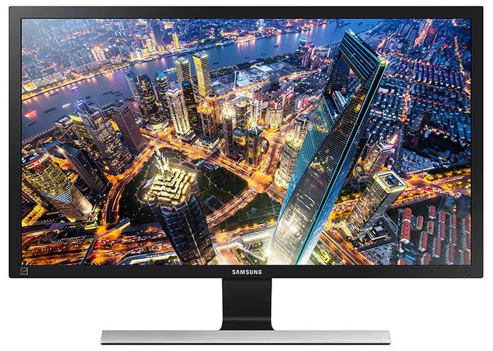 Samsung U32E850R 80,01 cm (31,5 Zoll) Monitor (HDMI, 4ms Reaktionszeit, 3840 x 2160 Pixe) schwarz