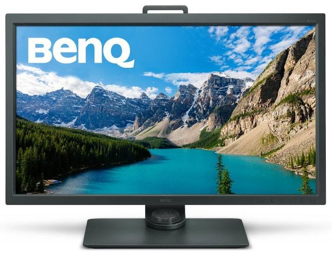 BenQ SW320 80,01 cm (31,5 Zoll) 4K LED Monitor (UHD 3840 X 2160 Pixel, 100% REC. 709, 99% Adobe RGB, 14bit 3D LUT, IPS-Technologie) schwarz
